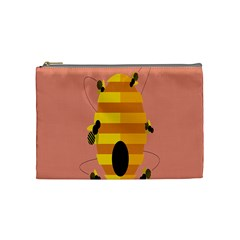 Honeycomb Wasp Cosmetic Bag (medium)