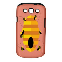 Honeycomb Wasp Samsung Galaxy S Iii Classic Hardshell Case (pc+silicone)