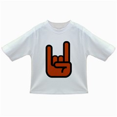 Metal Hand Infant/toddler T-shirts by Alisyart