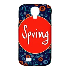 Floral Texture Pattern Card Floral Seamless Vector Samsung Galaxy S4 Classic Hardshell Case (pc+silicone) by Simbadda