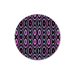Colorful Seamless Pattern Vibrant Pattern Magnet 3  (round)