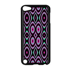 Colorful Seamless Pattern Vibrant Pattern Apple Ipod Touch 5 Case (black) by Simbadda