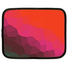 Abstract Elegant Background Pattern Netbook Case (xl)