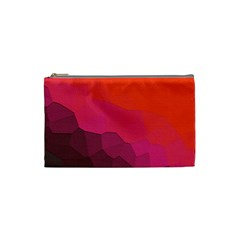 Abstract Elegant Background Pattern Cosmetic Bag (small)  by Simbadda