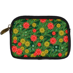 Completely Seamless Tile With Flower Digital Camera Cases by Simbadda