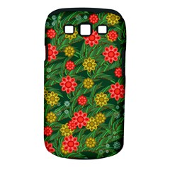Completely Seamless Tile With Flower Samsung Galaxy S Iii Classic Hardshell Case (pc+silicone) by Simbadda