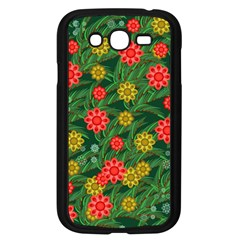 Completely Seamless Tile With Flower Samsung Galaxy Grand Duos I9082 Case (black) by Simbadda