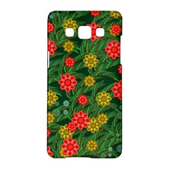 Completely Seamless Tile With Flower Samsung Galaxy A5 Hardshell Case