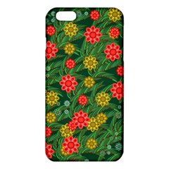 Completely Seamless Tile With Flower Iphone 6 Plus/6s Plus Tpu Case by Simbadda
