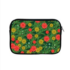 Completely Seamless Tile With Flower Apple Macbook Pro 15  Zipper Case by Simbadda