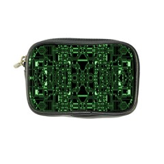 An Overly Large Geometric Representation Of A Circuit Board Coin Purse by Simbadda