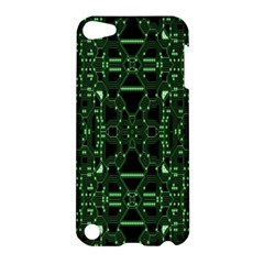 An Overly Large Geometric Representation Of A Circuit Board Apple Ipod Touch 5 Hardshell Case by Simbadda