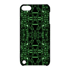 An Overly Large Geometric Representation Of A Circuit Board Apple Ipod Touch 5 Hardshell Case With Stand by Simbadda