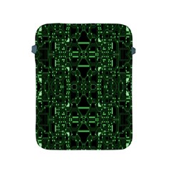 An Overly Large Geometric Representation Of A Circuit Board Apple Ipad 2/3/4 Protective Soft Cases by Simbadda
