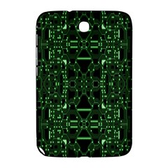 An Overly Large Geometric Representation Of A Circuit Board Samsung Galaxy Note 8 0 N5100 Hardshell Case  by Simbadda
