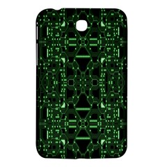 An Overly Large Geometric Representation Of A Circuit Board Samsung Galaxy Tab 3 (7 ) P3200 Hardshell Case  by Simbadda