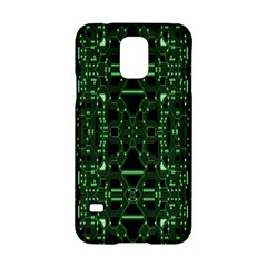 An Overly Large Geometric Representation Of A Circuit Board Samsung Galaxy S5 Hardshell Case  by Simbadda