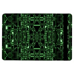An Overly Large Geometric Representation Of A Circuit Board Ipad Air Flip