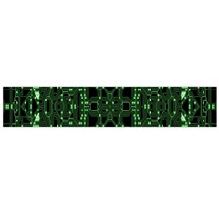 An Overly Large Geometric Representation Of A Circuit Board Flano Scarf (large) by Simbadda