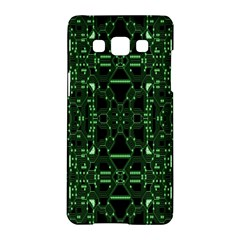 An Overly Large Geometric Representation Of A Circuit Board Samsung Galaxy A5 Hardshell Case