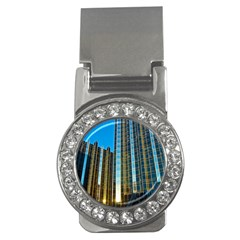 Two Abstract Architectural Patterns Money Clips (cz)  by Simbadda