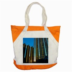 Two Abstract Architectural Patterns Accent Tote Bag by Simbadda