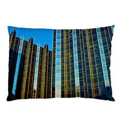 Two Abstract Architectural Patterns Pillow Case