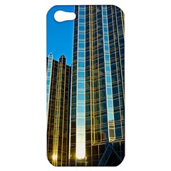 Two Abstract Architectural Patterns Apple Iphone 5 Hardshell Case by Simbadda