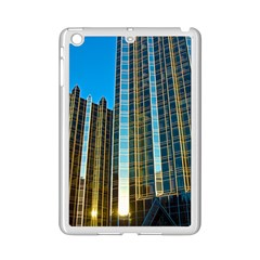 Two Abstract Architectural Patterns Ipad Mini 2 Enamel Coated Cases by Simbadda