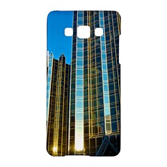 Two Abstract Architectural Patterns Samsung Galaxy A5 Hardshell Case  by Simbadda