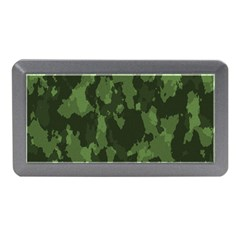 Camouflage Green Army Texture Memory Card Reader (mini)