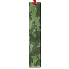 Camouflage Green Army Texture Large Book Marks by Simbadda