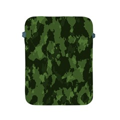 Camouflage Green Army Texture Apple Ipad 2/3/4 Protective Soft Cases by Simbadda