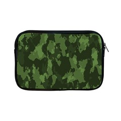 Camouflage Green Army Texture Apple Ipad Mini Zipper Cases by Simbadda