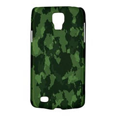 Camouflage Green Army Texture Galaxy S4 Active by Simbadda