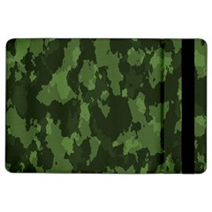 Camouflage Green Army Texture Ipad Air 2 Flip by Simbadda