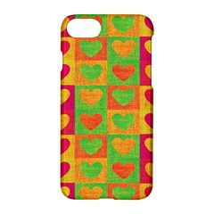 Pattern Apple Iphone 7 Hardshell Case by Valentinaart