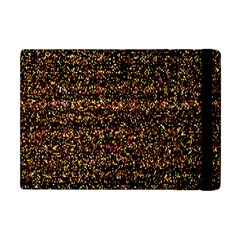 Pixel Pattern Colorful And Glowing Pixelated Apple Ipad Mini Flip Case