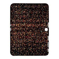 Pixel Pattern Colorful And Glowing Pixelated Samsung Galaxy Tab 4 (10 1 ) Hardshell Case  by Simbadda