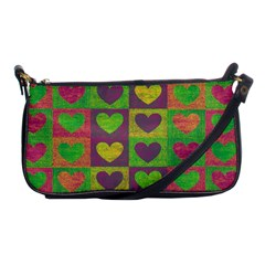 Pattern Shoulder Clutch Bags by Valentinaart