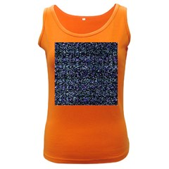 Pixel Colorful And Glowing Pixelated Pattern Women s Dark Tank Top by Simbadda