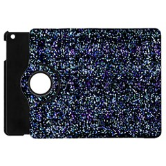 Pixel Colorful And Glowing Pixelated Pattern Apple Ipad Mini Flip 360 Case by Simbadda