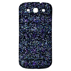 Pixel Colorful And Glowing Pixelated Pattern Samsung Galaxy S3 S Iii Classic Hardshell Back Case by Simbadda