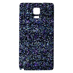 Pixel Colorful And Glowing Pixelated Pattern Galaxy Note 4 Back Case