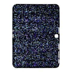 Pixel Colorful And Glowing Pixelated Pattern Samsung Galaxy Tab 4 (10 1 ) Hardshell Case  by Simbadda
