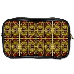 Seamless Symmetry Pattern Toiletries Bags 2 Side by Simbadda