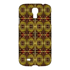 Seamless Symmetry Pattern Samsung Galaxy S4 I9500/i9505 Hardshell Case by Simbadda