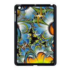 Fractal Background With Abstract Streak Shape Apple Ipad Mini Case (black) by Simbadda