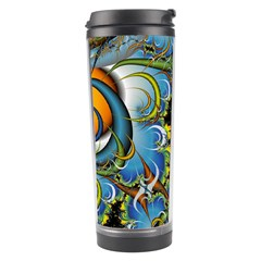 Fractal Background With Abstract Streak Shape Travel Tumbler