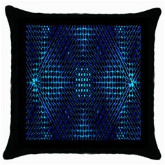 Vibrant Pattern Colorful Seamless Pattern Throw Pillow Case (black)